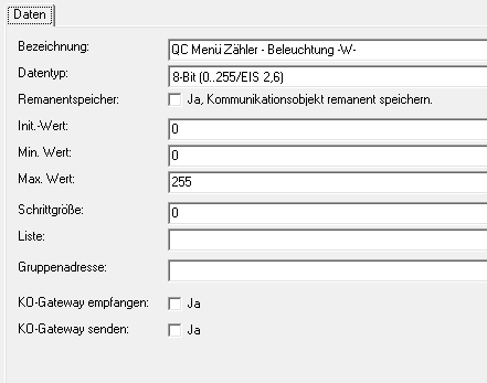 Gira Homeserver QuadClient Logik Tutorial Beispiel